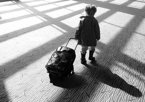 ребенок переезжает к отцу